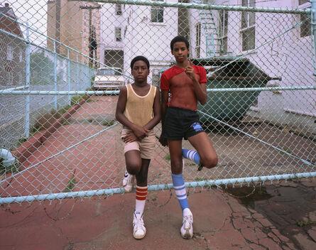 Joe Maloney, 'Blue Fence, Asbury Park, New Jersey', 1980