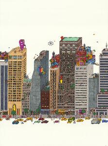 Guillaume Cornet, 'Rooftop Favelas', 2020