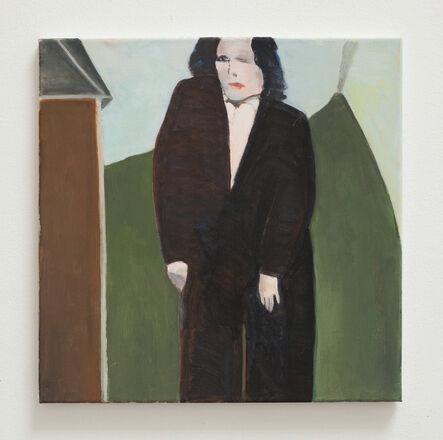 Bruno Knutman, 'Kvinna i svart / Woman in Black', 2016