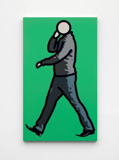Julian Opie, 'Man in jumper with telephone.', 2012