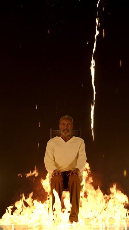 Bill Viola, 'Fire Martyr', 2014
