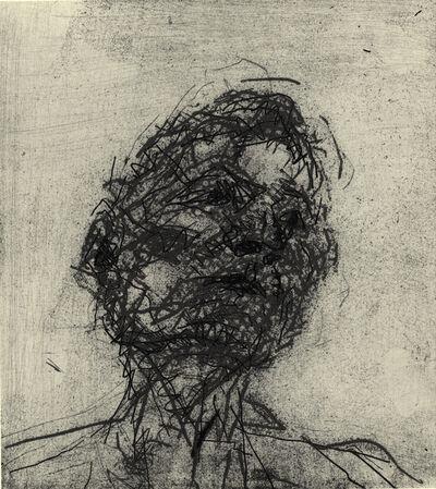 Frank Auerbach, 'Lucian Freud', 1981