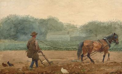 Winslow Homer, 'The Plowman', 1878