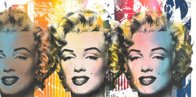 Mr. Brainwash, 'Marilyn Monroe Trio', 2020
