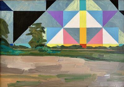 Vidya Gastaldon, 'Healing Painting (Geometric Sun)', 2019