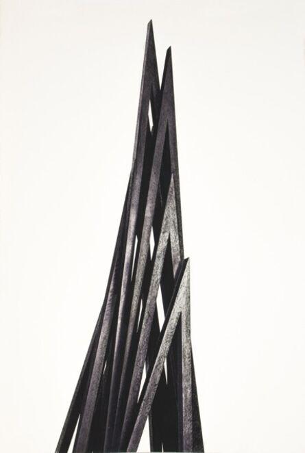 Bernar Venet, 'Vertical Angles - Print B', 2016