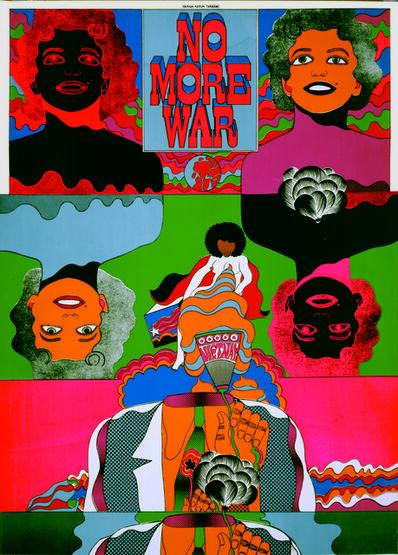 Keiichi Tanaami, 'No More War 5', 1967