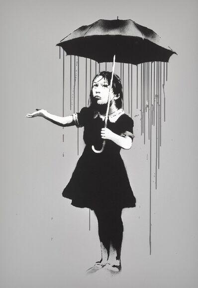 Banksy, 'NOLA (Grey)', 2008