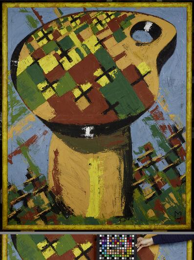 Markus Lüpertz, 'Palette - dithyrambisch III', 1973