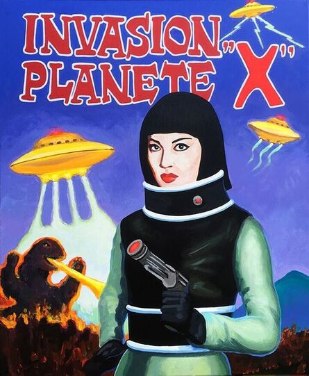 Cathey Miller, 'Invasion Planete X', 2018