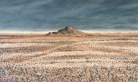 Bruce Backhouse, 'Lone Koppie Rain Near Gariep Dam', 2021