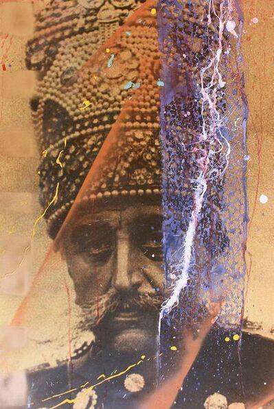 Firouz Farmanfarmaian, 'Portrait of Mozaffar ad-Din Shah Qajar', 2014