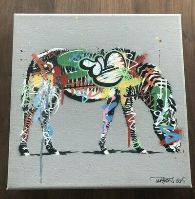 Martin Whatson, 'Zebra (Canvas Edition)', 2015