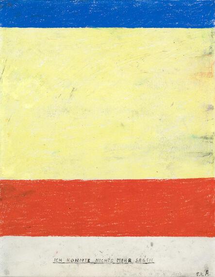 Martin Assig, 'St. Paul #63 - Ich konnte nichts mehr sagen ', 2010