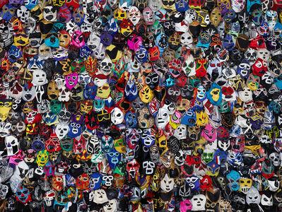 Liu Bolin, 'Mexican Masks', 2015