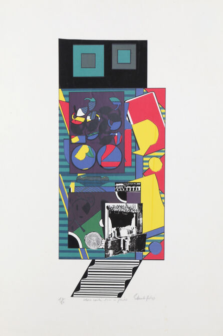 Eduardo Paolozzi, 'Colour Combination in Pairs', ca. 1968