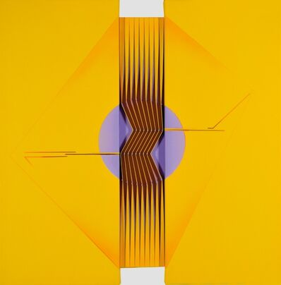 Alberto Biasi, 'Con-centro', 2008