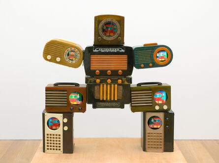Nam June Paik, 'Untitled [Bakelite Robot]', 2002