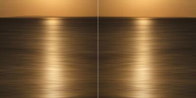 Christine Matthäi, 'Liquid Gold Diptych', 2014