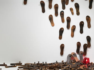 G.R. Iranna, 'Untitled (Paduka Installation)', 2012