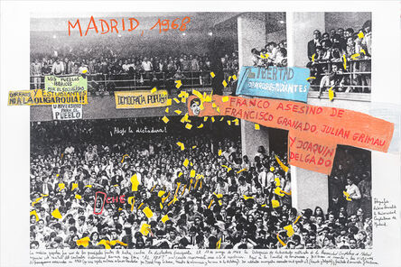 Marcelo Brodsky, 'From the series 1968: The fire of Ideas, Madrid, 1968', 2014-2019