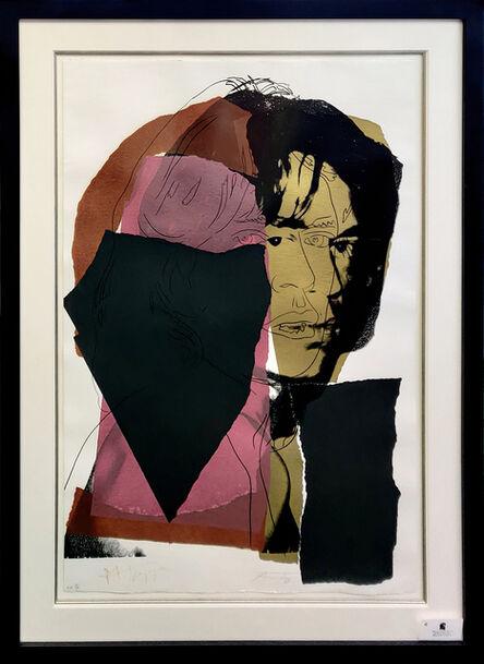 Andy Warhol, 'MICK JAGGER FS II.139', 1975
