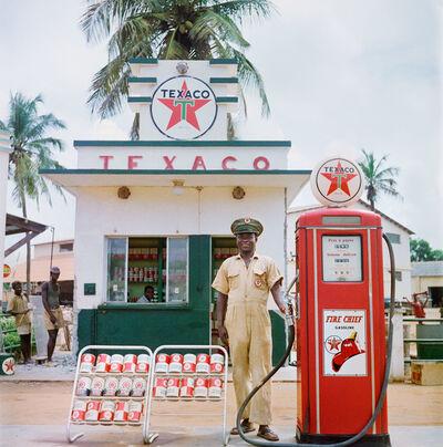 Todd Webb, 'Texaco Station, Togo ', 1958