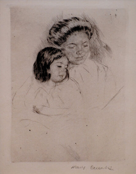 Mary Cassatt, 'The Picture Book', ca. 1901