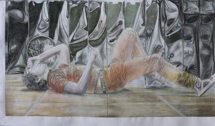 Iris Levasseur, 'Fb œil version orange', 2019