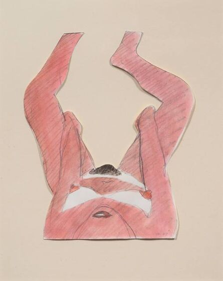Tom Wesselmann, 'Drawing for Great American Nude #88', 1967