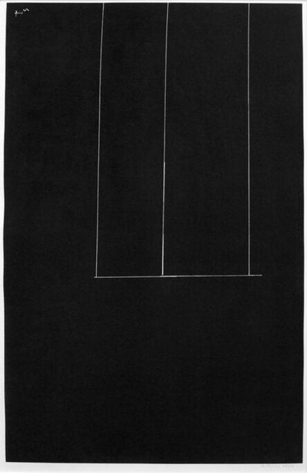 Robert Motherwell, 'Untitled-Black', 1971