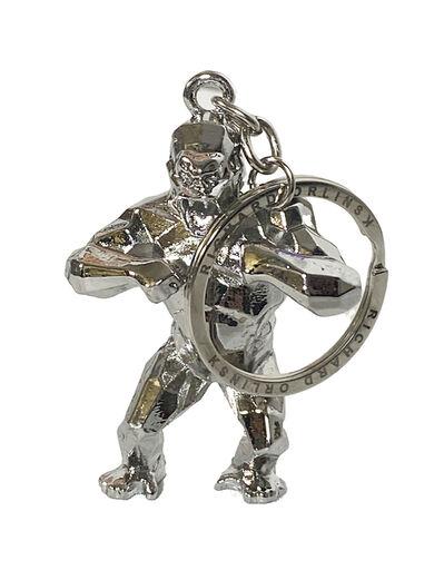 Richard Orlinski, ''Kong Spirit' (silver) Keychain', 2020