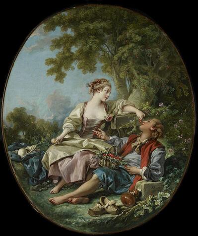 François Boucher, 'The Wooden Shoes (Les Sabots)', 1768