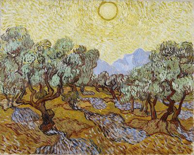 Vincent van Gogh, 'Olive Trees', 1889