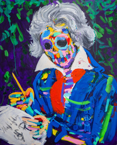 Bradley Theodore, 'Beethoven's Skull', 2018