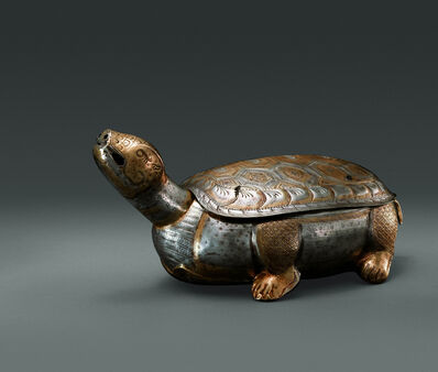 Unknown Artist, 'Gilt Silver Case in the Shape of a Tortoise'