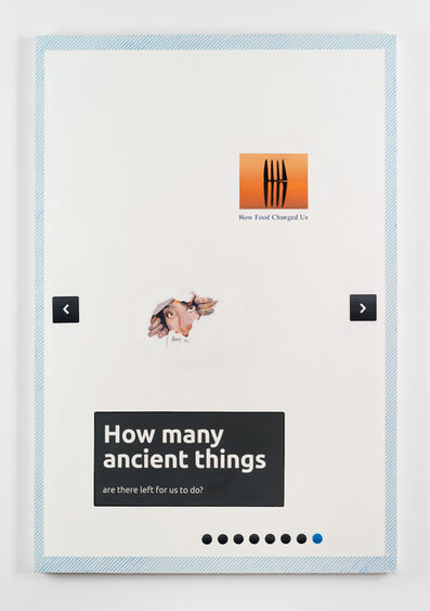 Joel Holmberg, 'How Many Ancient Things Are There Left For Us To Do?', 2014