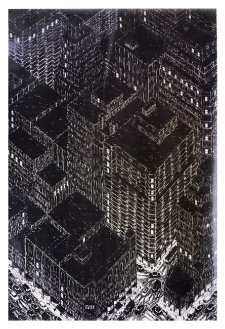Yvonne Jacquette, 'Northwest View from the Empire State Building', 1982