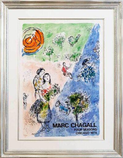 Marc Chagall, 'Four seasons', 1974