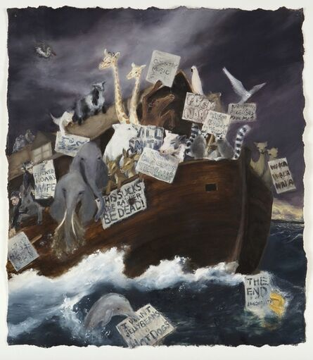 Dan Colen, 'Lust for Life (Noah's Ark)', 2006