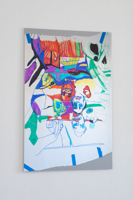 Keren Cytter, 'Self-portrait IV', 2018