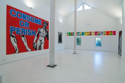 Les Levine, 'CONSUME OR PERISH', 1988