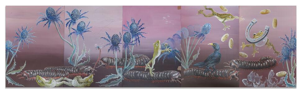 Bernhard Martin, 'Im Wohlbefinden grasen', 2020