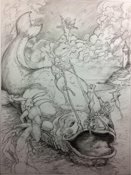 Daniel Birdsong, 'Whopper's Ball (Study)', 2014