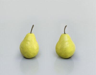 Ugo Rondinone, 'still.life. (two pears)', 2011