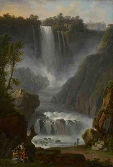 Claude-Louis Châtelet, 'A View of the Cascata delle Mamore', Late 18th Century