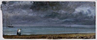 John Constable, 'Brighton Beach', 1824