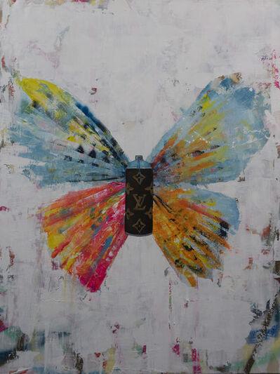Daniel Maltzman, 'Butterfly With Spraycan', 2019