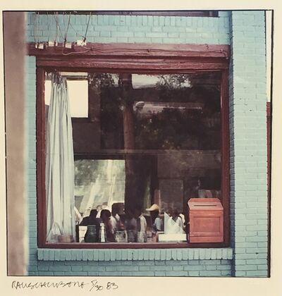 Robert Rauschenberg, 'Study for Chinese Summerhall (Blue Window)', 1982