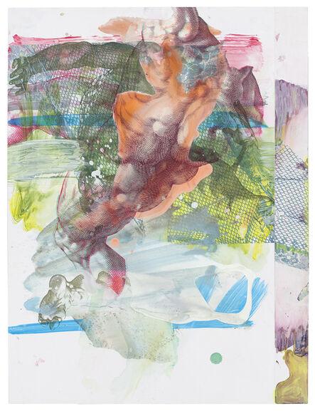 Pia Fries, 'corpus transludi B3', 2017